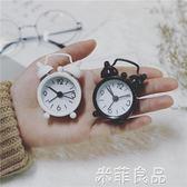 迷你鬧鐘便攜小巧1寸口袋創意韓國可愛簡約mini實用小清新女學生 『米菲良品』