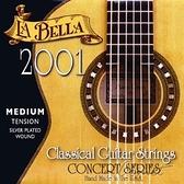 【缺貨】【古典吉他弦】【La Bella 2001M】【 中張力古典吉他弦】【小新樂器館】