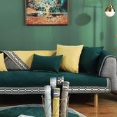 雪尼爾北歐簡約宜家沙發墊套四季通用防滑高檔靠背巾加厚坐墊布藝  凱斯盾