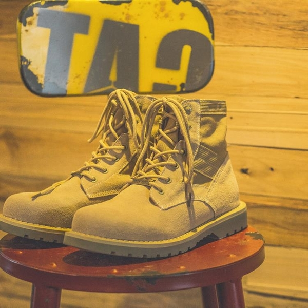 靴子 秋季復古馬丁靴男日系靴子男潮流男靴高幫馬丁鞋增高工裝靴馬丁鞋