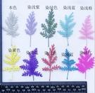 青蒿松 蒿葉,壓花染色,一份18片,顏色隨機混色