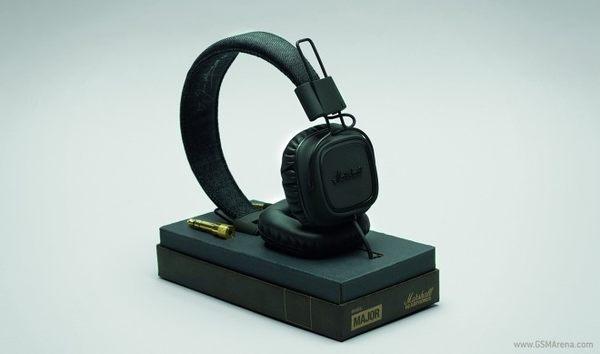 【金聲樂器廣場】全新 Marshall Major Pitch Black 瀝青黑 耳罩式耳機