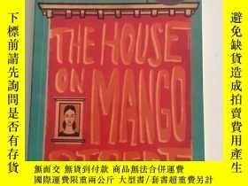二手書博民逛書店芒果街小屋罕見The house on mango street