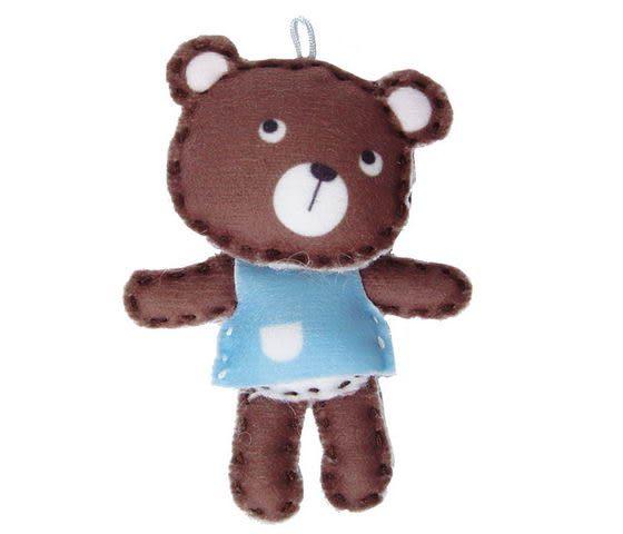 ☆猴子設計☆ 想想熊布偶明信片-明信片可以DIY成一個可愛布偶-可加購材料包