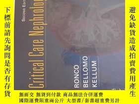 二手書博民逛書店Critical罕見Care NephrologyY11966