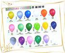 氣球零售批發10吋標準亮面球皮每顆1.8元 /氣球發送/活動造勢/氣球外送會場佈置