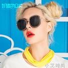 韓國墨鏡女潮2020明星款復古太陽鏡圓臉個性網紅太陽眼鏡時尚新款 小艾新品
