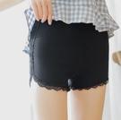 安全裤 防走光女夏天蕾絲可內外穿三分保險短褲學生薄款寬鬆打底褲【快速出貨八折鉅惠】