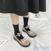 娃娃鞋女 厚底女鞋可愛蘿莉淺口圓頭娃娃鞋原宿軟妹小皮鞋 HD