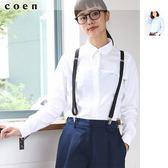 牛津襯衫女 釦領襯衫 女休閒襯衫 現貨 免運費 日本品牌【coen】