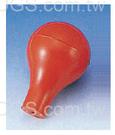《台製》橡膠簡易吸球 Rubber Bulb for Pipets and Syringes