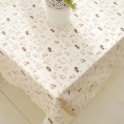 時尚可愛鄉村餐桌布 茶几布 蓋布1 (90*140cm)