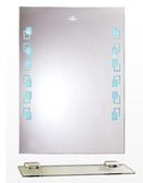 【麗室衛浴】化妝鏡 LS-0260  附燈防霧明鏡  採防水LED藍燈 500*700mm