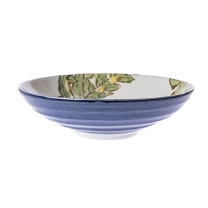 日本大根藍5.5吋深盤
