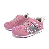 《7+1童鞋》中童 日本IFME 機能輕量 運動鞋 D491 粉色