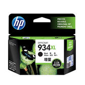 HP C2P23AA NO.934XL 黑色墨水匣