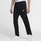 Nike Sportswear Club 男裝 長褲 直筒褲 棉質 休閒 鬆緊腰 黑【運動世界】BV2714-010