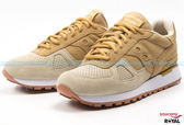 Saucony 新竹皇家 SHADOW ORIGINAL 土黃/米 網布 輕量 慢跑鞋 男女款 NO.A8075