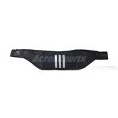 adidas 腰包 Run Marath Belt Bag 黑 白 慢跑 小包 反光【PUMP306】 G79389