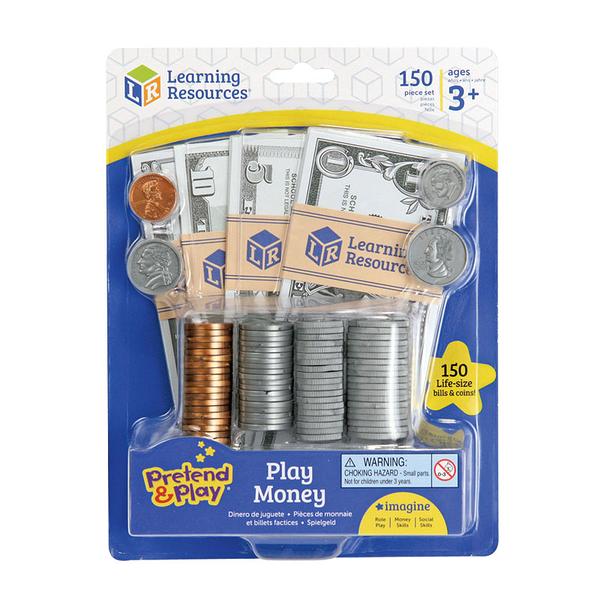 【華森葳兒童教玩具】美國教育資源 Learning Resource 遊戲錢幣組