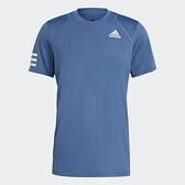 Adidas CLUB TENNIS 男裝 短袖 T恤 慢跑 訓練 透氣孔洞 吸濕排汗 藍【運動世界】GH7227