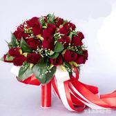 VIKI-結婚婚慶用品韓式新娘手捧花唯美仿真玫瑰花球婚紗攝影道具花 nm4202 【VIKI菈菈】