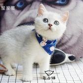 定制猫咪三角巾口水巾围巾幼猫围脖成猫领巾宠物饰品卡通三角巾围嘴