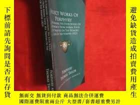 二手書博民逛書店Select罕見Works of Porphyry: Containing His Four Books on A