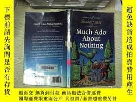 二手書博民逛書店Much罕見ado about nothing 無所事事Y203