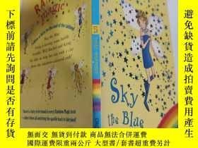 二手書博民逛書店rainbow罕見magic sky the blue fairy 彩虹魔法天空藍精靈..Y200392