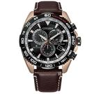CITIZEN 星辰 光動能30週年電波錶 三眼手錶 CB5038-14E