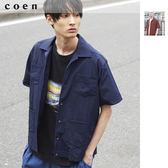 4WAY 彈性 古巴襯衫 開領襯衫 UTILITY LINE免運費 日本品牌【coen】