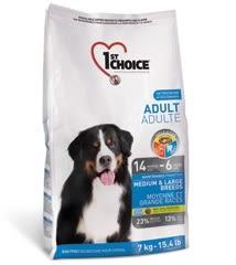 *Ego Pet*瑪丁1st Choice《中大型成犬》雞肉配方7kg / 成犬-14個月至6歲 - 第一優鮮