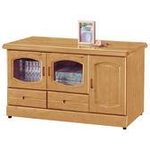 【森可家居】赤陽木4尺電視櫃 8SB220-2 長櫃 木紋質感 日式無印風