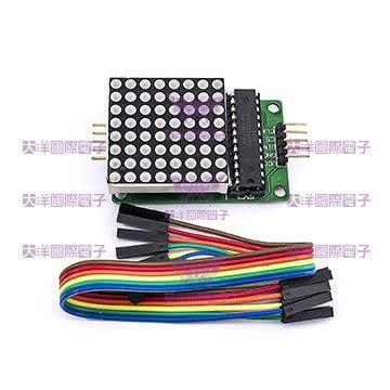 ◤大洋國際電子◢ MAX7219 點矩陣模組 Arduino模組 0877