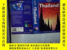 二手書博民逛書店LONELY罕見PLANET THAILANDY180897 不
