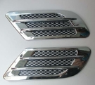 BENZ AUDI VW 鯊魚腮 側風口裝飾貼 出風口貼 鯊魚鰭 出風口裝飾 葉子板 FORD MAZDA 沂軒精品 A0038