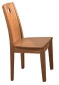 【 IS空間美學】妙麗實木餐椅