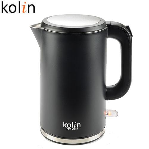 Kolin歌林 1.7L 不鏽鋼雙層防燙快煮壺KPK-LN210【愛買】