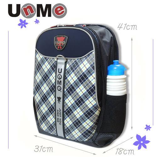 【UnMe】蘇格紋小筆電後背包 藍色 3247-B (OS小舖)