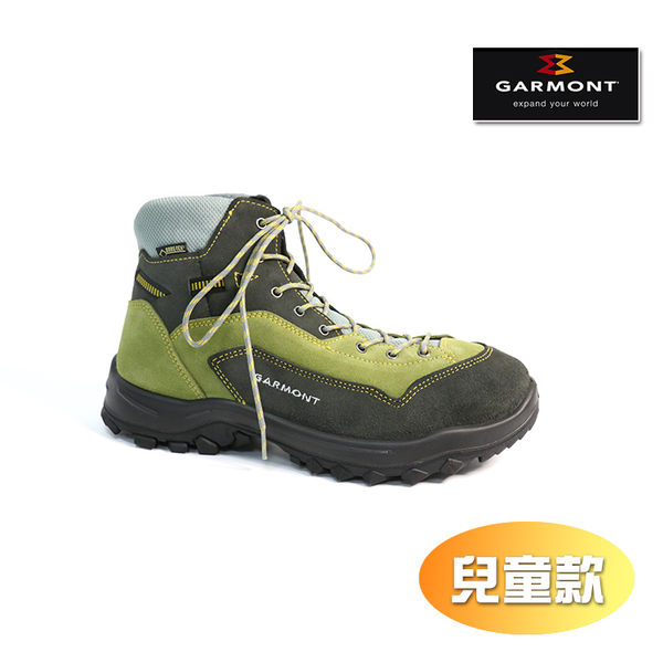 GARMONT 兒童GORETE健走鞋DRAGONTAIL JR 441080-216/城市綠洲((登山鞋、防水、黃金大底)