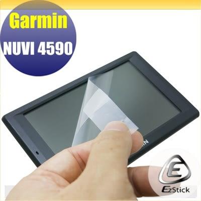 【Ezstick】GARMIN NUVI 4590 靜電式GPS導航平板LCD液晶螢幕貼 (AG霧面)