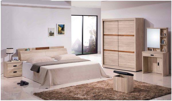 【森可家居】舒活床頭櫃 7JX29-3 木紋質感 無印風 MIT