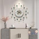 掛鐘 鐘錶掛鐘客廳北歐創意時鐘大氣靜音現代簡約掛鐘時尚藝術掛牆鐘錶T 3色