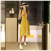 ✦Styleon✦正韓。氣質素面圓領簡單無袖背心洋裝。韓國連線。韓國空運。0717。