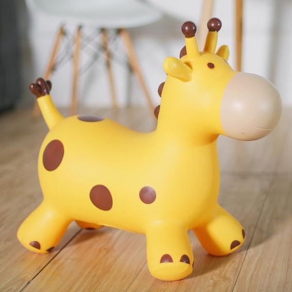 跳跳馬兒童玩具跳跳馬充氣馬跳跳玩具鹿加大加厚