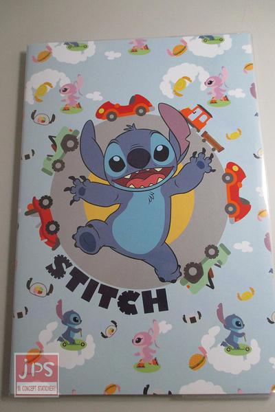 Disney Stitch 史迪奇 18K固頁筆記 淺藍色 E1897-A