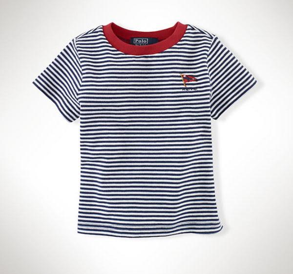 (BJGO) POLO Ralph Lauren_Short-Sleeved Striped Tee 短袖條紋T恤 現貨18M
