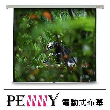 適用會議教學使用~台灣專業保固PENNY PS-120 (1:1)120吋電動布幕 安裝簡易