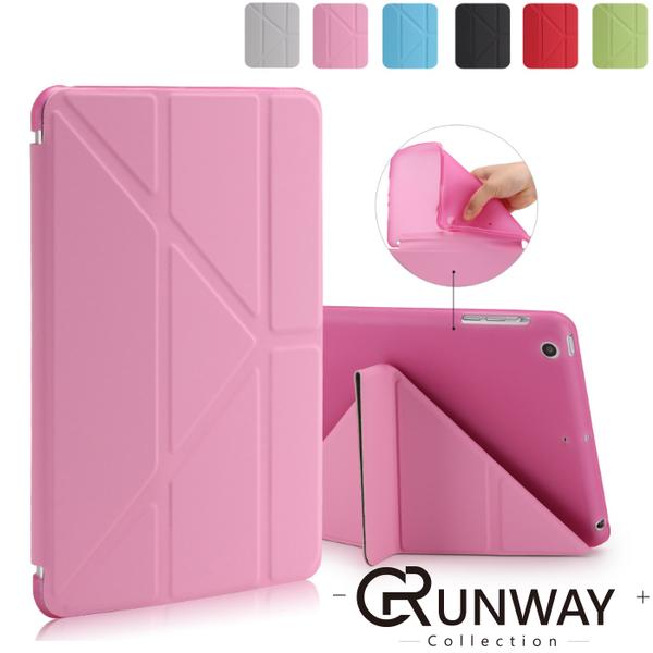 超薄 純色柔軟 防摔 保護套 iPad mini4 pro9.7 10.2 10.5 帶休眠 平板保護殼 皮套